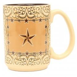 Western Star & Barbwire Mug