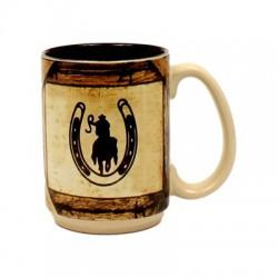 Horseshoe Horse Mug