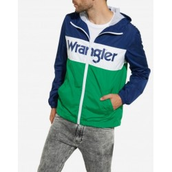 Wrangler Wally Windbreaker Blue Depths