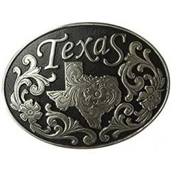 Nocona Buckle Men's Texas Black