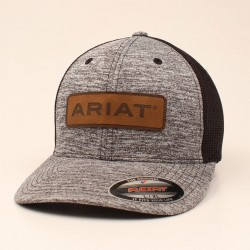 Ariat Black Heather Cap with Ariat Logo Patch