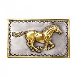 Nocona Galloping Horse  Buckle