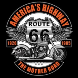 AMERICA'S HIGHWAY - ROUTE 66 -THE MOTHER ROAD