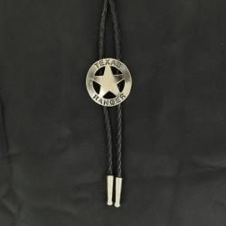 Bolo Tie Silver Texas Ranger