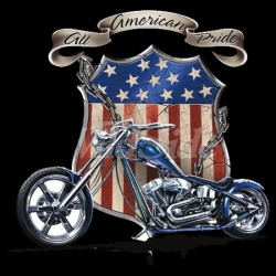 ALL AMERICAN PRIDE CHOPPER