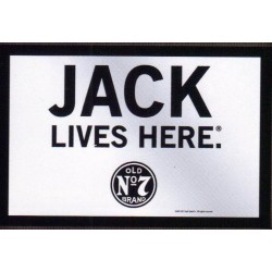 """Jack Lives Here"" Mirror"