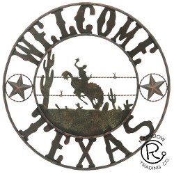 Texas Welcome Bucking Cowboy
