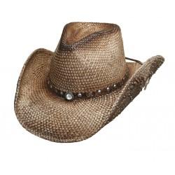 Bullhide Cappello Paglia Western Inspiration Natural