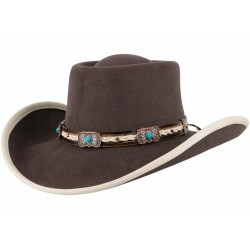 Bullhide Cappello Feltro Mind Reader  Marrone